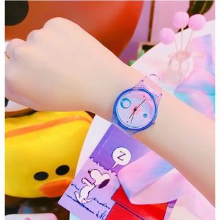 Đồng hồ trẻ em COOLBOS D2 dây trong cao cấp ngộ nghĩnh sắc mầu tuổi thơ