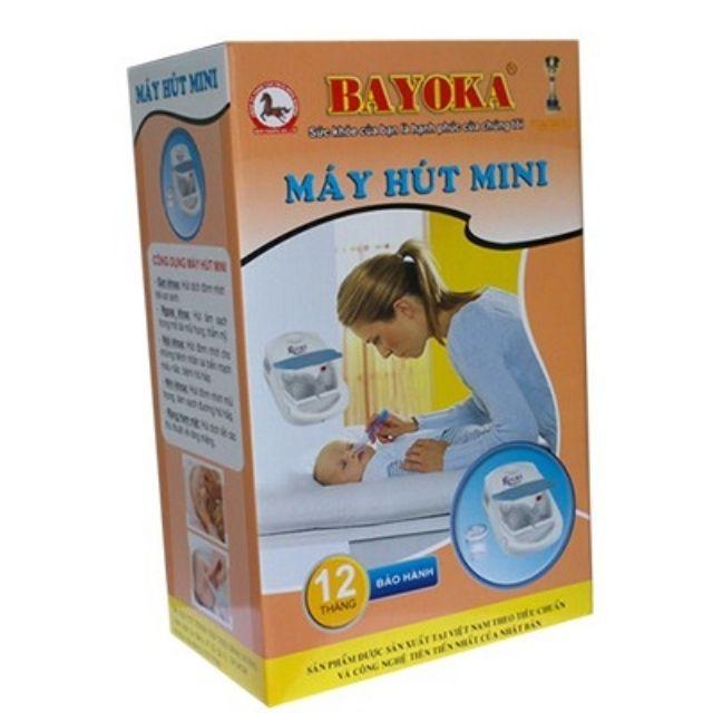 Máy hút đờm mini, hút dịch, hút mũi trẻ em Bayoka - 3498351 , 960212797 , 322_960212797 , 644000 , May-hut-dom-mini-hut-dich-hut-mui-tre-em-Bayoka-322_960212797 , shopee.vn , Máy hút đờm mini, hút dịch, hút mũi trẻ em Bayoka