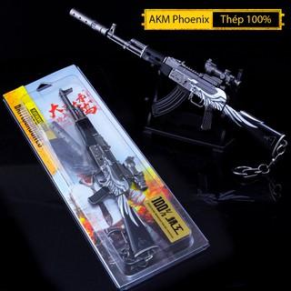 Mô Hình PUBG AKM PhoeNix 22cm Có Thể Tháo Lắp Tặng Kèm Giá Trưng Bày