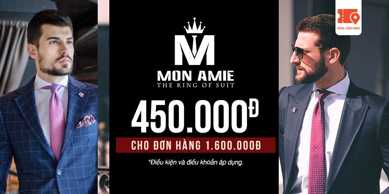 E-Voucher Mon Amie 450.000đ cho đơn hàng 1.600.000đ