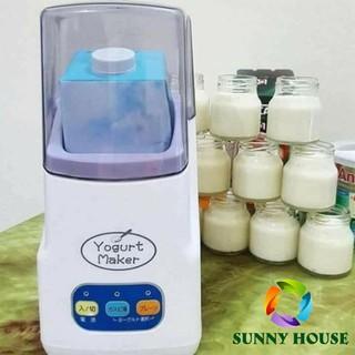 Máy làm sữa chua Nhật Bản Yogurt Maker 3 nút điều chỉnh, máy ủ sữa chua Nhật Bản - Sunny House