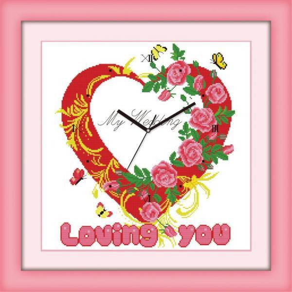 Tranh thêu chữ thập chưa thêu Loving You Y8083