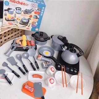 Bộ Đồ Chơi Nhà Bếp Bằng Nhựa 36 Chi Tiết