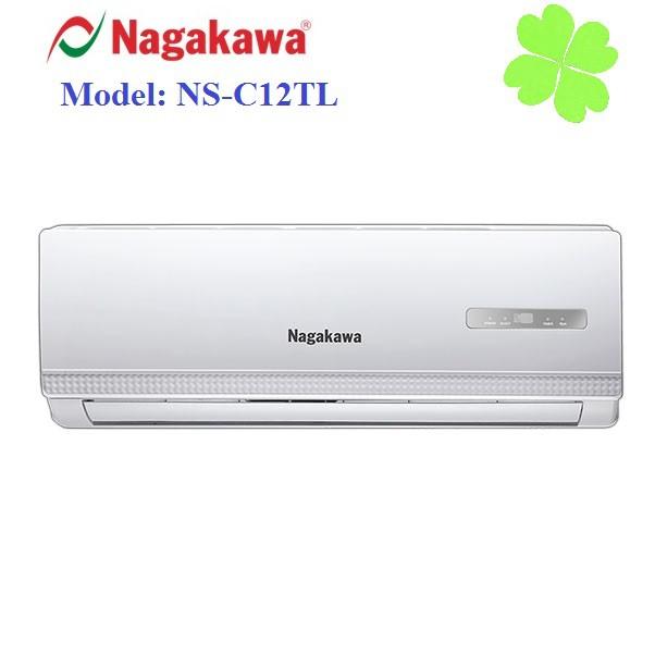 Điều hòa Nagakawa NS-C12TL 1 chiều lạnh công suất 12000BTU gas 410 nhập Indonesia