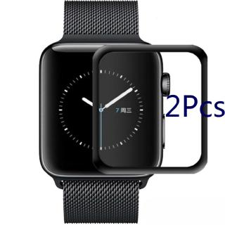 2 Pcs 3D Iwatch 1 / 2 / 3 Tempered Glass Screen Protector Cover Apple Watch Accessories
