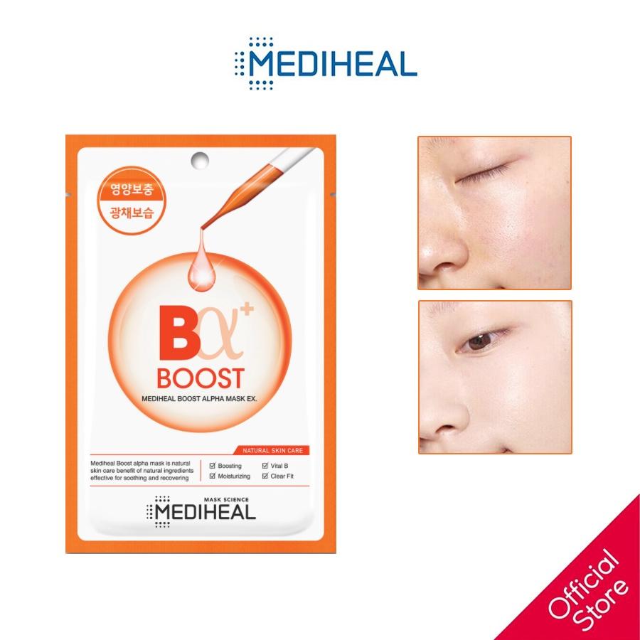 Mặt Nạ Đều Màu Da Mediheal Boost Alpha Mask EX 23ml