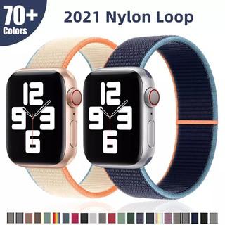 Dây apple watch sợi nilon siêu thời trang – thích hợp 1/2/3/4/5/6/SE và các mẫu watch tương tự