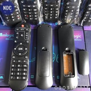 [Mã ELFLASH3 hoàn 10K xu đơn 20K] Remote Hồng Ngoại Xịn Khui Hộp ENYBOX X96 Air, X96 Max+,..(Có Chuột Khiển)