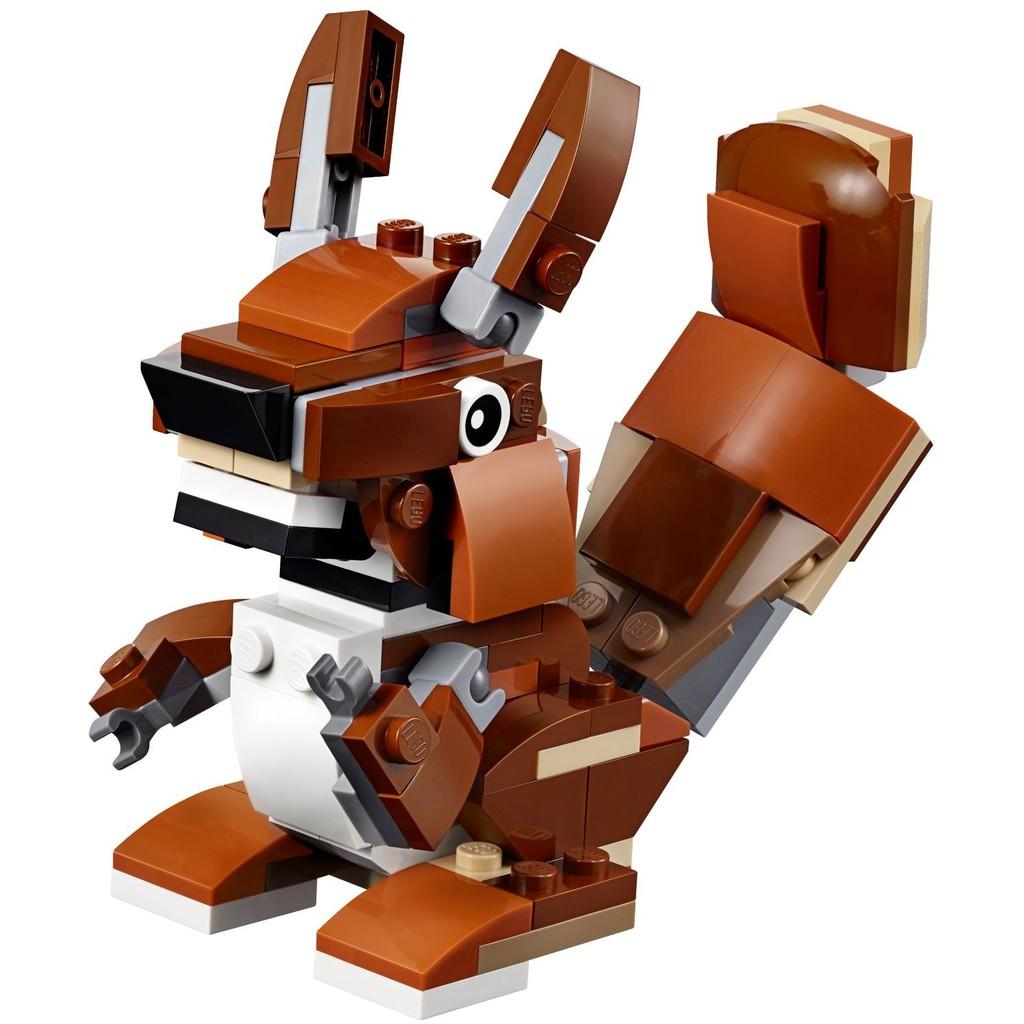 LEGO Động Vật Hoang Dã Creator 31044 - Đồ Chơi LEGO Chính Hãng Đan Mạch