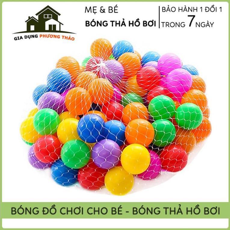 Set Bóng Nhựa Đồ Chơi Cho Bé, Bóng Nhựa Nhà Bóng, Hồ Bơi – An Toàn Cho Bé