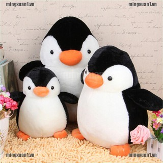 MINONE Lovely Penguin Stuffed Animal Plush Soft Toys Gift Cute Doll Pillow Cushion 20cm Gift