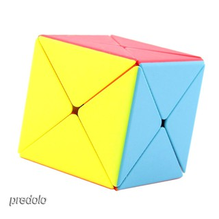 8 Axis Irregular X Magic Cube Speed Cube Twist Puzzle Brain Teaser Game Toy