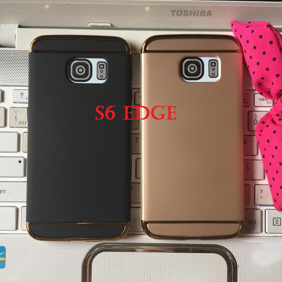 Ốp lưng Samsung S6/S6 Edge ốp doanh nhân ráp 3 mảnh chống vân tay cao cấp