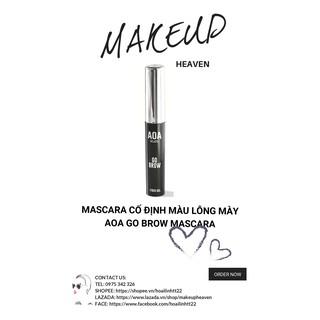 [CÓ SẴN] Mascara cố định màu lông mày AOA go brow mascara thumbnail