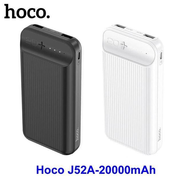 Pin dự phòng 20000mAh Hoco J52A chính hãng