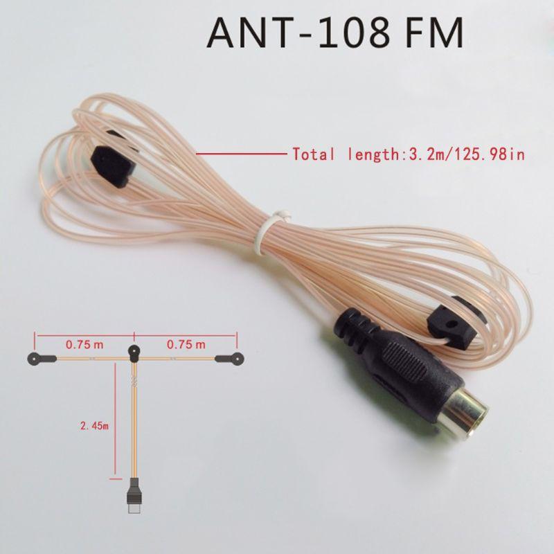 Ăng Ten Wili Ant-108 3.2m Fm Cho Bộ Khuếch Đại Âm Thanh