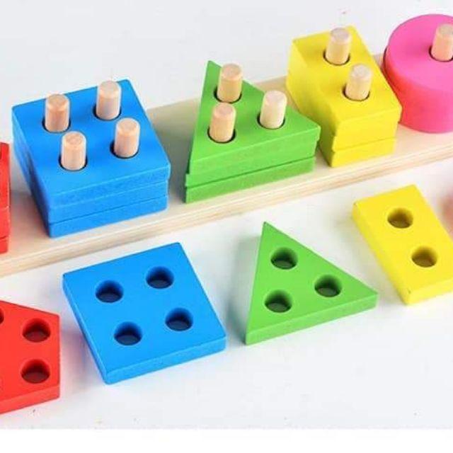 Bảng phân loại màu sắc hình khối