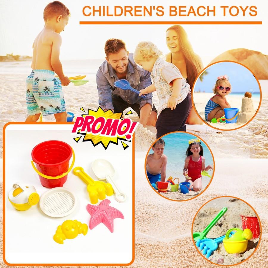Bộ đồ chơi xô nhựa đi biển vui nhộn cho bé