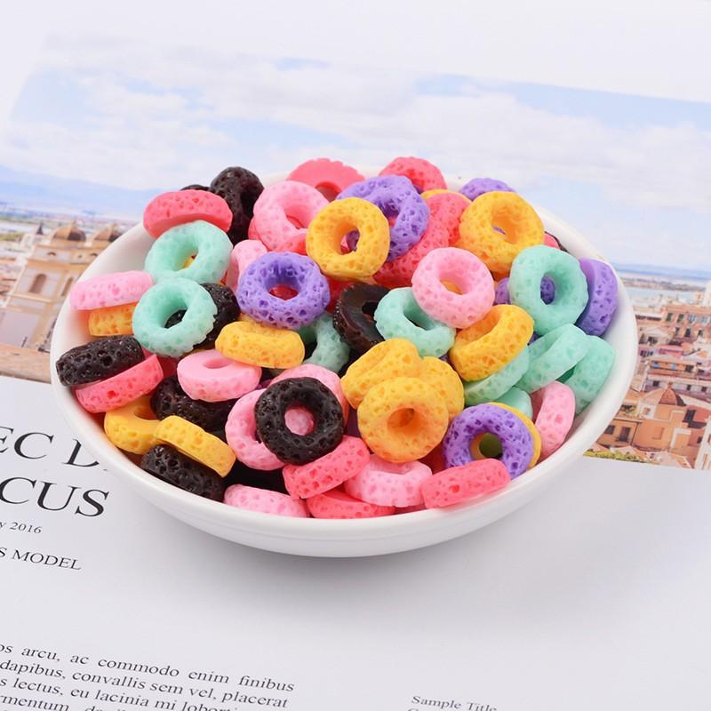 Đồ Chơi Slime Dạng Bánh Donut Diy