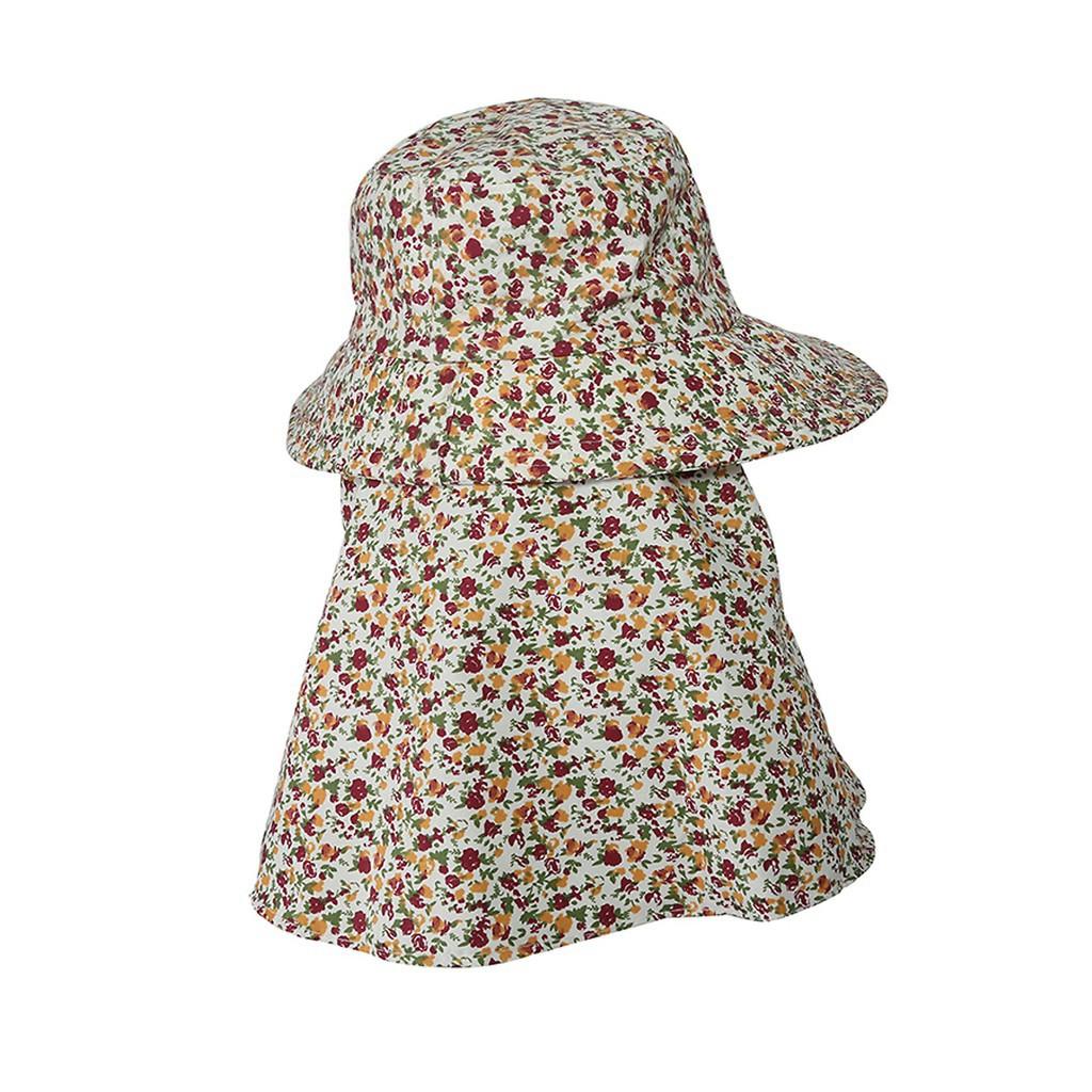 [SIÊU RẺ] Mũ chống nắng thô 2 lớp có khẩu trang chống tia UV