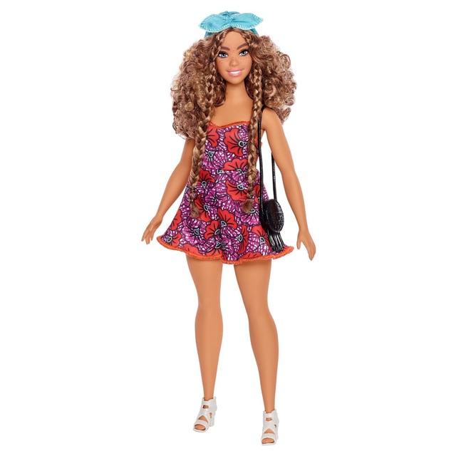 Búp bê barbie fashionista glam boho