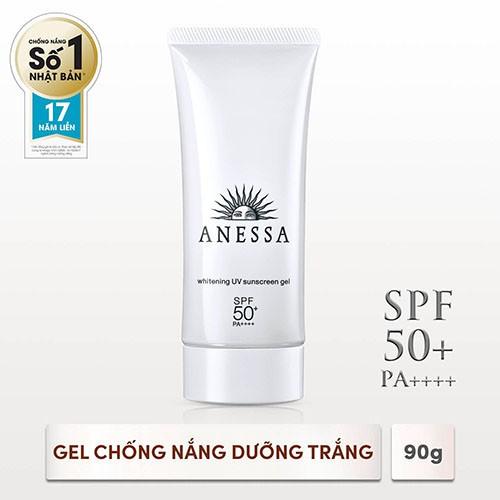Gel chống nắng dưỡng trắng Anessa Whitening UV Sunscreen Gel 90g _ 4901872087884