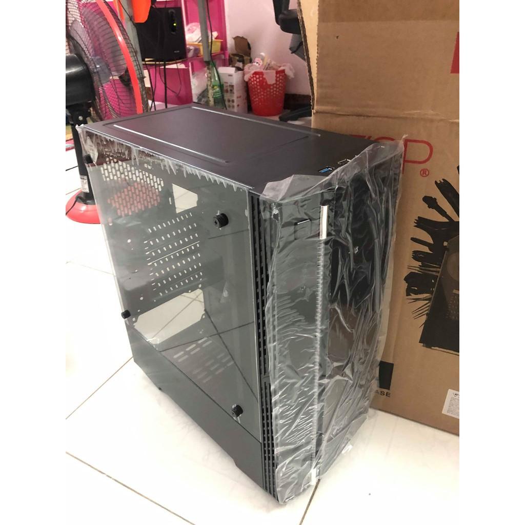 Case Vision VSP KA-180 Trong Suốt Chính Hãng Case CPU