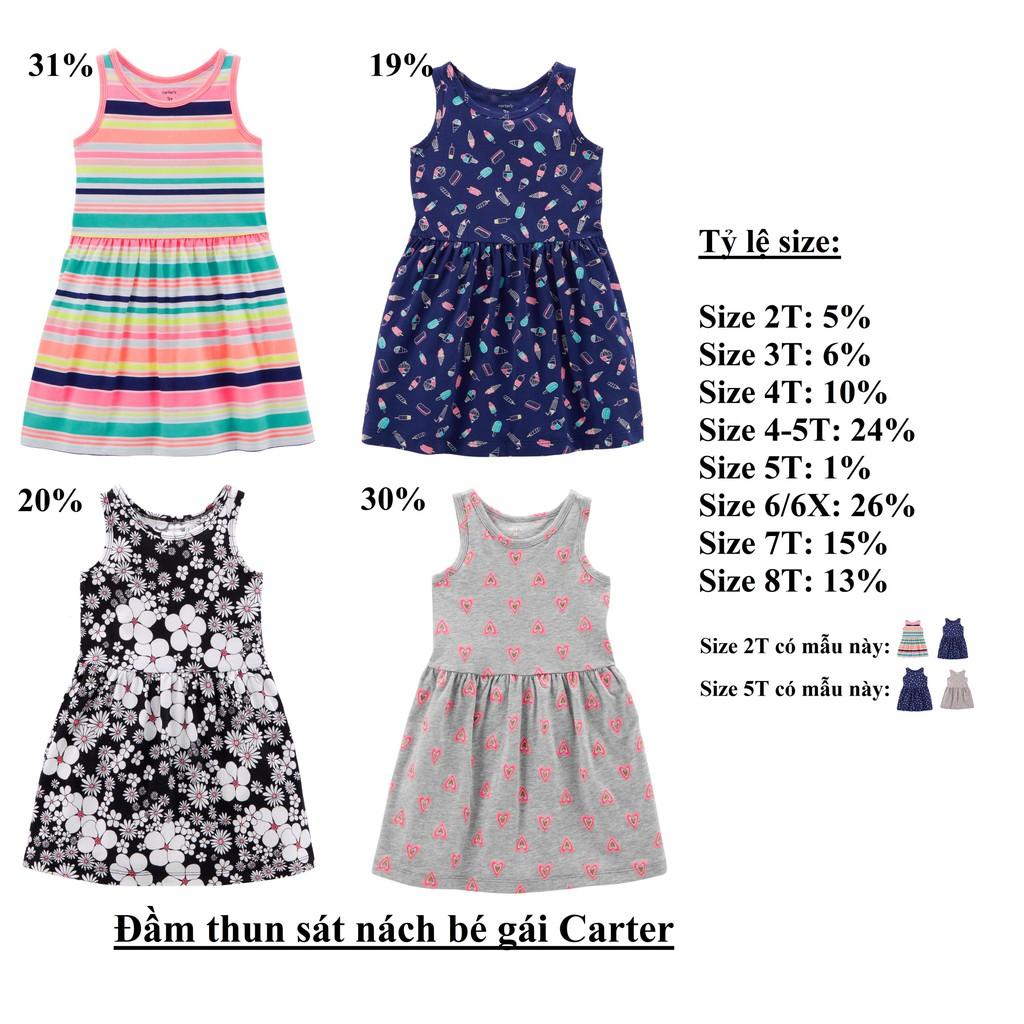 Đầm thun sát nách bé gái Carter ( sỉ ri 15 ) - msp : 1229 - 3532563 , 1278013706 , 322_1278013706 , 930000 , Dam-thun-sat-nach-be-gai-Carter-si-ri-15-msp-1229-322_1278013706 , shopee.vn , Đầm thun sát nách bé gái Carter ( sỉ ri 15 ) - msp : 1229