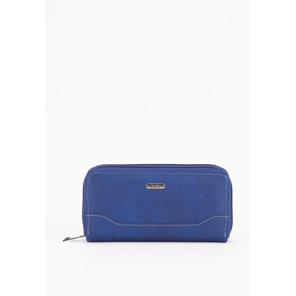 Crossbody bag Business bag Jacob International กระเป๋าสตางค์ V32086 (น้ำเงิน)rossbody bag Business bag Jacob Internation