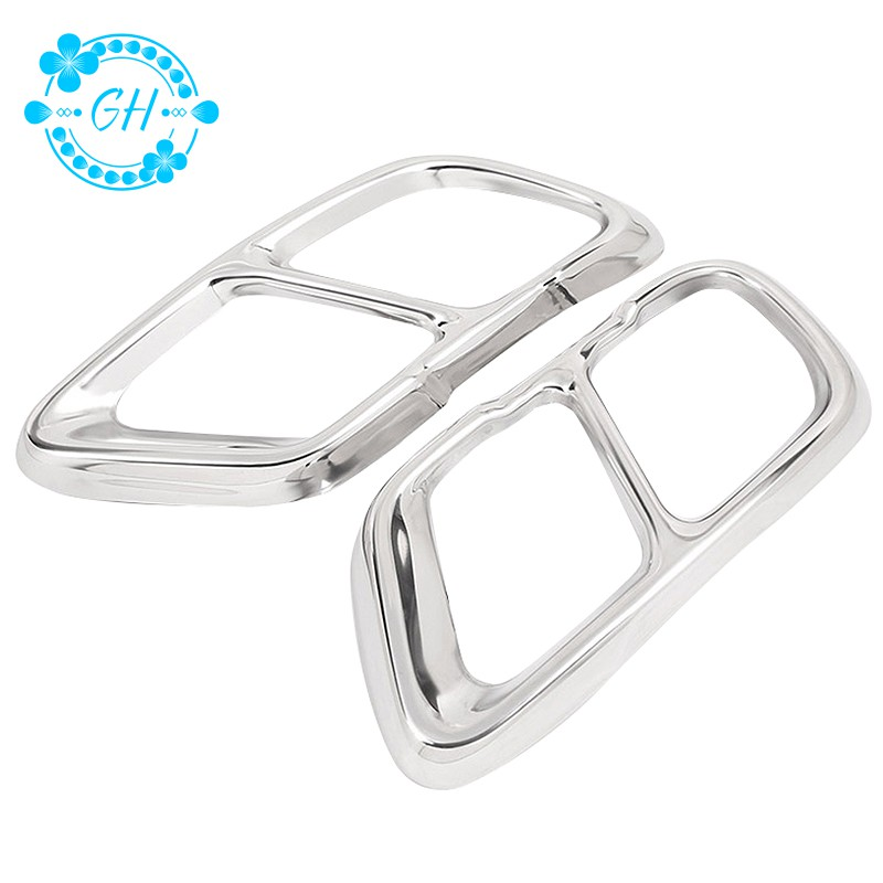 2Pcs Chrome Stainless Steel Car Exhaust Pipe Cover Trim For Bmw X5 G05 2019 Year Model Accessories - 22169032 , 2651562983 , 322_2651562983 , 664285 , 2Pcs-Chrome-Stainless-Steel-Car-Exhaust-Pipe-Cover-Trim-For-Bmw-X5-G05-2019-Year-Model-Accessories-322_2651562983 , shopee.vn , 2Pcs Chrome Stainless Steel Car Exhaust Pipe Cover Trim For Bmw X5 G05 2