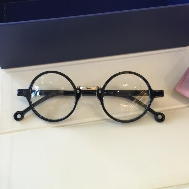 Kính gọng Mắt tròn nhỏ Mini – đường kính 4,3cm