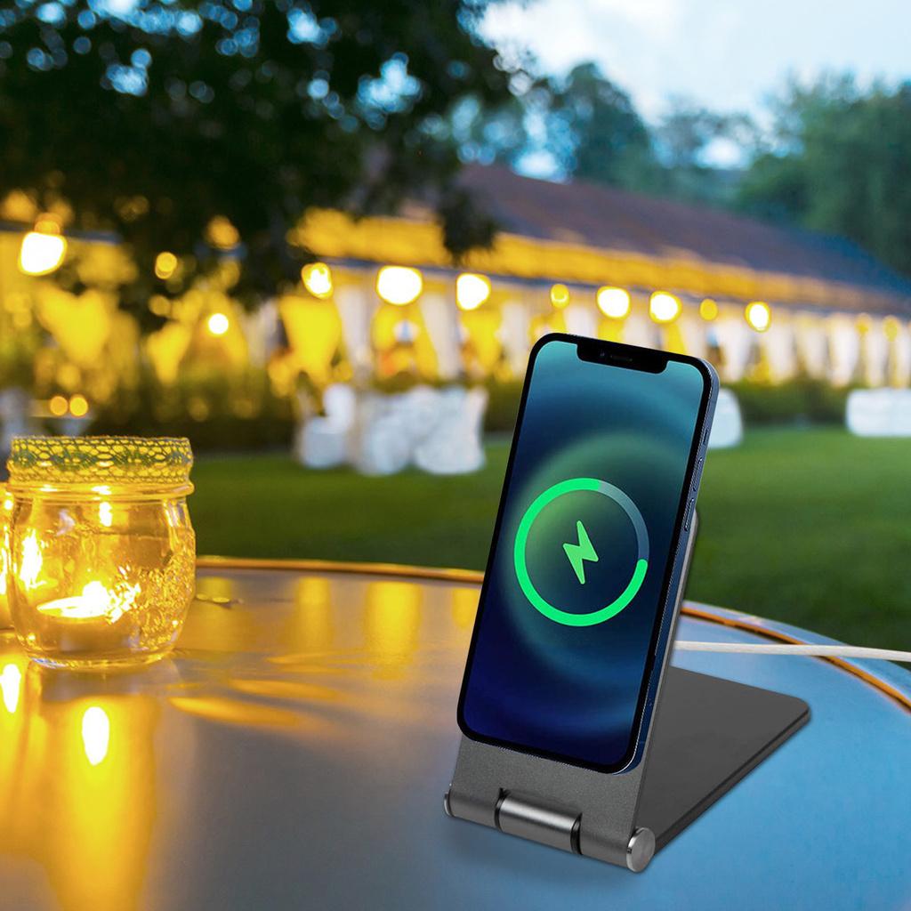 Giá Đỡ Điện Thoại Iphone 12 Kèm Phụ Kiện Tiện Dụng