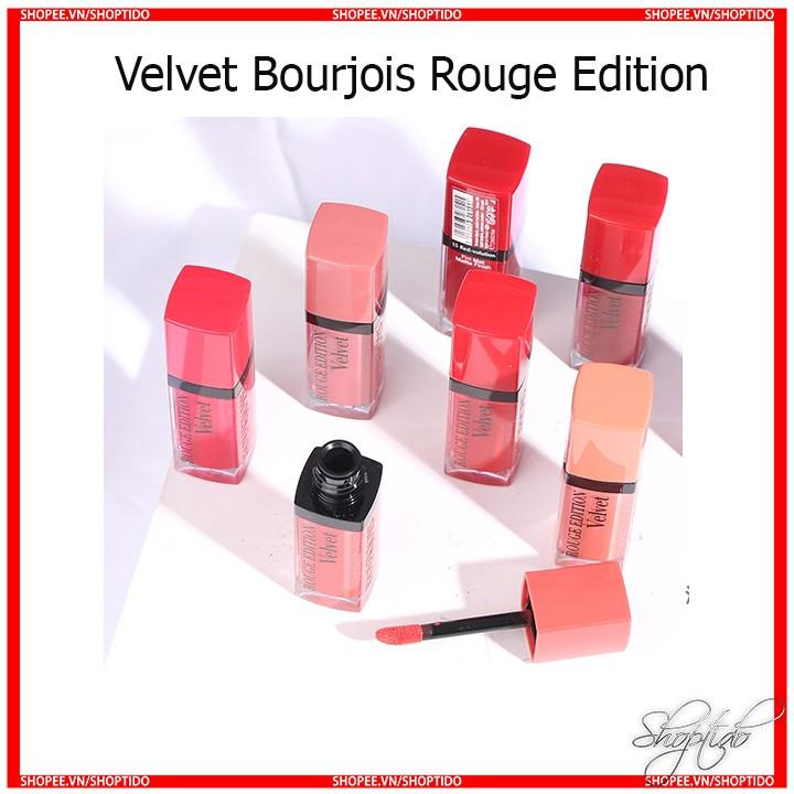 Son kem lì Velvet Bourjois Rouge Edition chính hãng Pháp BJ VV cam kết àng Auth Shoptido