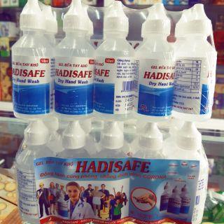 ✅ Gel rửa tay khô HADISAFE 50 m