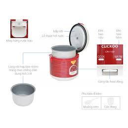 Nồi cơm điện Cuckoo 1122 - 2 lít/ Hàng chính hãng - Xuất xứ Hàn Quốc