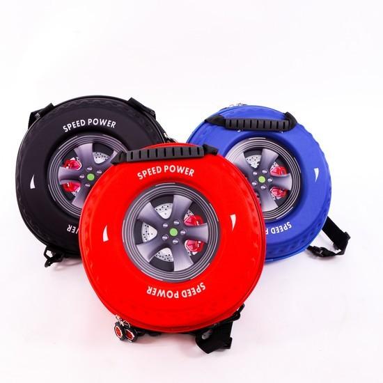 Ba lô hình bánh xe 3D cho bé trai - 2738557 , 55243667 , 322_55243667 , 119000 , Ba-lo-hinh-banh-xe-3D-cho-be-trai-322_55243667 , shopee.vn , Ba lô hình bánh xe 3D cho bé trai