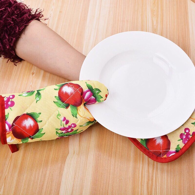 Set găng tay và miếng lót tay