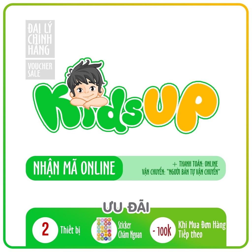 Kids up Toàn quốc [E-voucher] - Voucher mã học GIÁO DỤC SỚM MONTESSORI (Trọn đời, 1 năm)