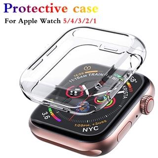 Ốp Lưng 360 Độ Bảo Vệ Màn Hình Đồng Hồ Apple Watch Series 6 5 4 3 2 1 44mm 40mm thumbnail