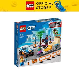 LEGO CITY 60290 Khu Vui Chơi Trượt Ván ( 195 Chi tiết) Bộ gạch đồ chơi lắp ráp cho trẻ em