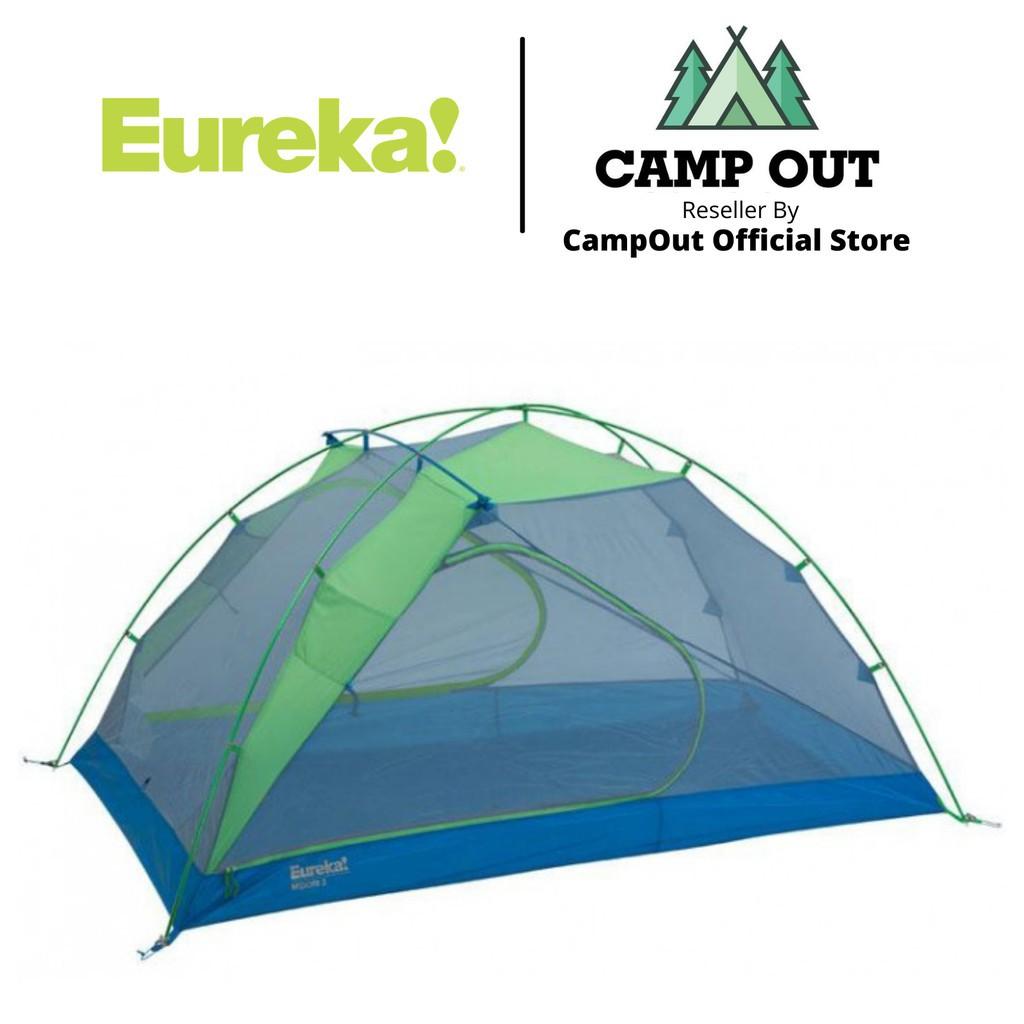 Lều cắm trại Eureka du lịch dã ngoại Midori lều 2 người bền gọn nhẹ Campout A054