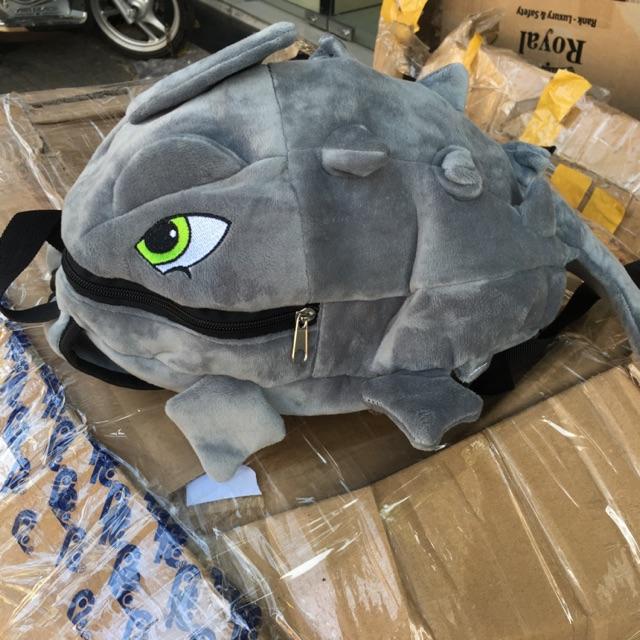 Balo khủng long mini vải nhung