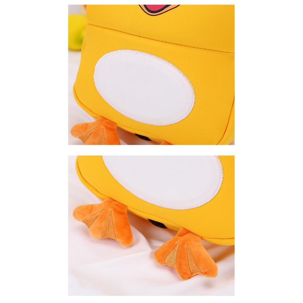 Balo cho bé mẫu giáo vải xốp (1-4 tuổi hình gà , hình ếch)