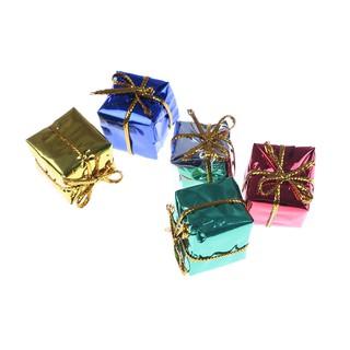 ❤❤ Bộ 10 Hộp quà giáng sinh nhỏ dùng trang trí nhà búp bê