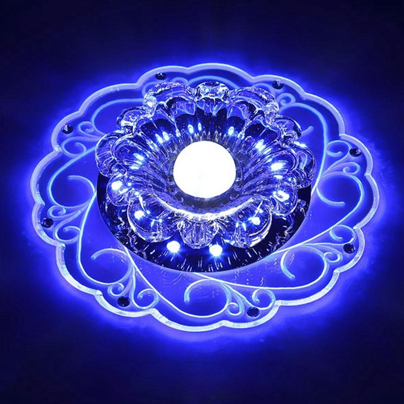 Đèn Led Gắn Trần 3w Kiểu Dáng Thời Trang Sang Trọng