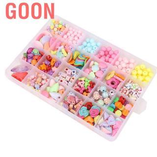 Goon Funny Creative DIY Bead Toys Plastic Handmade Art Educational Learning Jewelry Making For Girls Children