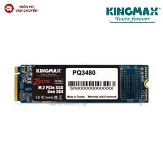 Ổ cứng SSD KINGMAX PQ3480 128GB M.2 2280 PCIe (Zeus- Gen3x4)- Hàng chính hãng new 100%