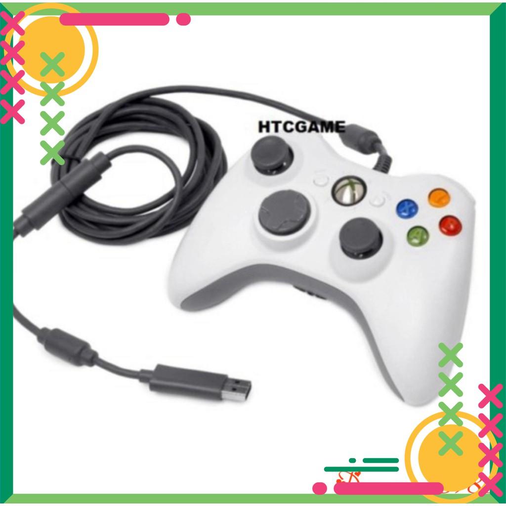[FREE SHIP] 💥[CHÍNH HÃNG – BẢO HÀNH 1 NĂM ]💥Tay Cầm Chơi Game Xbox 360 Hỗ trợ tất cả các thiệt bị Android , PC , PS3,