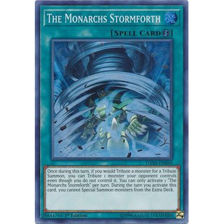 Thẻ Bài Yugioh: The Monarchs Stormforth DASA-EN044 Super 1st