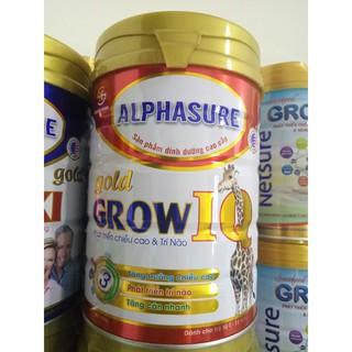 Sữa Alphasure Gold Grow IQ 900g - Tăng cân - Phát triển chiều cao cho bé từ 1-15 tuổi thumbnail
